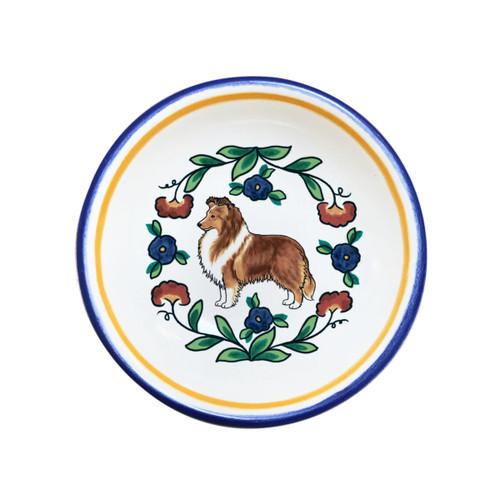Shetland Sheepdog (Sheltie) Ring Dish (Dipping Bowl)