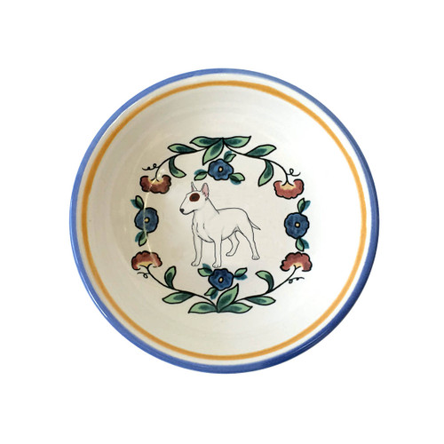 Bull Terrier ring dish / dipping bowl from shepherds-grove.com