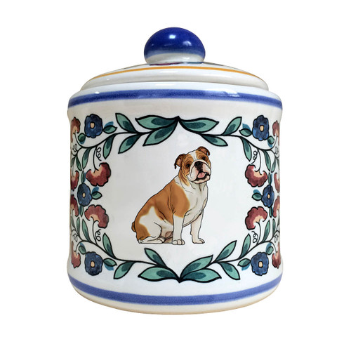 Bulldog sugar bowl - handmade by shepherds-grove.com