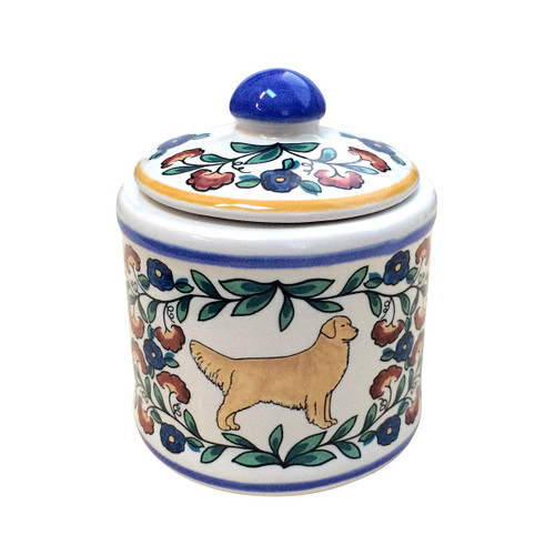 Golden Retriever sugar bowl - handmade by shepherds-grove.com