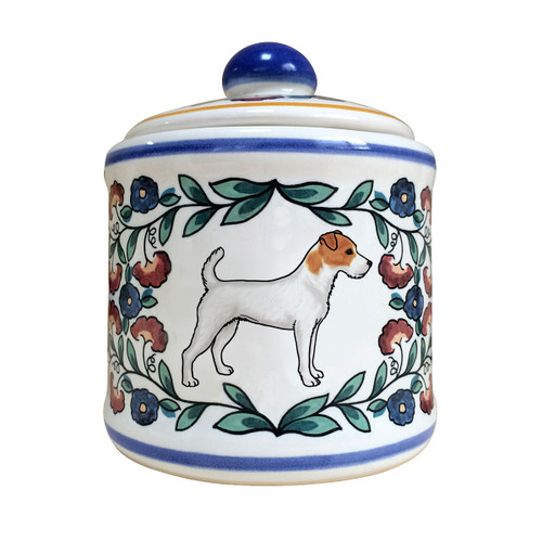 Jack Russell Terrier sugar bowl - handmade by shepherds-grove.com
