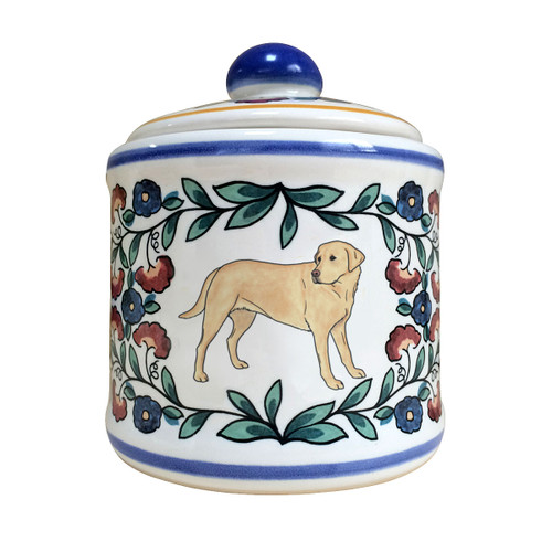 Handmade Yellow Lab sugar bowl by shepherds-grove.com