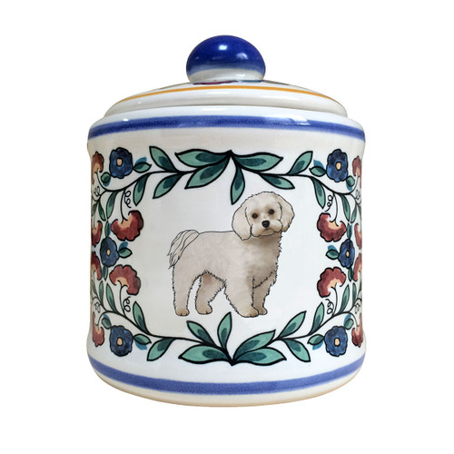Handmade Maltese sugar bowl by shepherds-grove.com