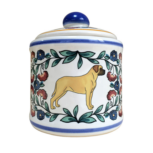 Handmade Mastiff sugar bowl by shepherds-grove.com