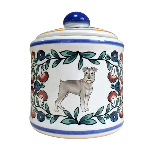 Handmade Miniature Schnauzer sugar bowl by shepherds-grove.com