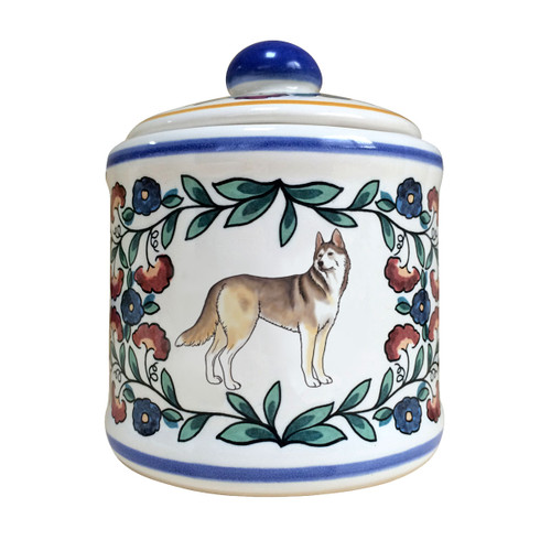 Siberian Husky Dog Sugar Bowl