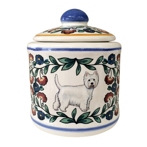 West Highland Terrier (Westie) sugar bowl by shepherds-grove.com
