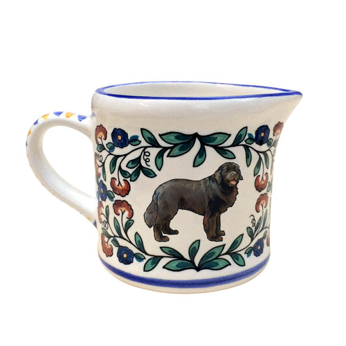 Newfoundland dog creamer - handmade by shepherds-grove.com
