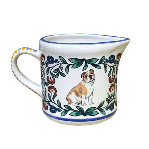 Bulldog Creamer - handmade by shepherds-grove.com