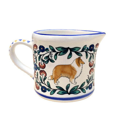 Sable Collie creamer made by shepherds-grove.com