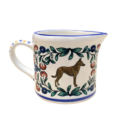 Dutch Shepherd creamer - handmade by shepherds-grove.com