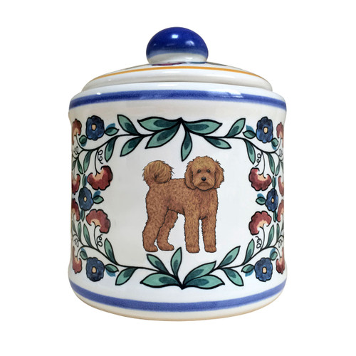 Labradoodle Sugar Bowl by shepherds-grove.com