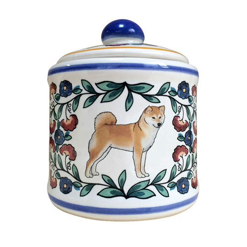 Beautiful Shiba Inu sugar bowl, handmade by shepherds-grove.com