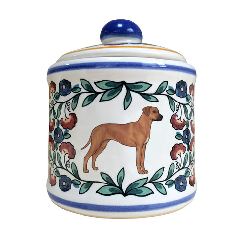 Rhodesian Ridgeback sugar bowl by shepherds-grove.com