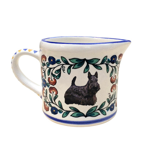 Scottish Terrier Creamer Pitcher