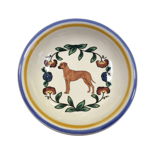 Rhodesian Ridgeback dipping bowl by shepherds-grove.com