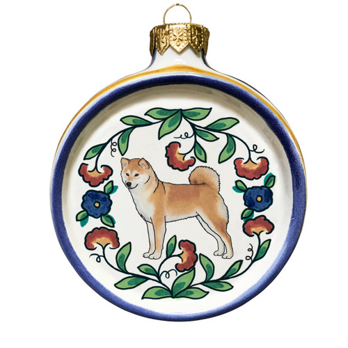Shiba Inu Christmas ornament by shepherds-grove.com ... - Shiba Inu Dog Lover Christmas Ornament - Handmade