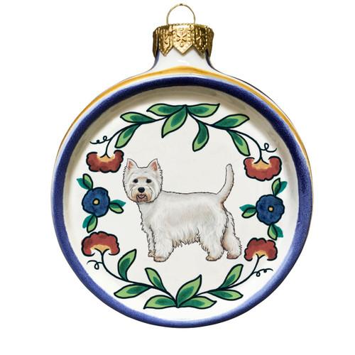 West Highland Terrier Christmas ornament by shepherds-grove.com