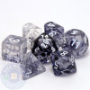 7-piece Nebula dice set - Black