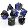 7-piece Gemini polyhedral dice set - D&D dice