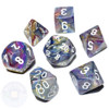 7-piece Festive dice set - D&D dice set - Carousel