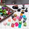 Pack of 100+ Random d6 Polyhedral Dice in Multiple Colors