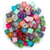 Assorted 6-sided dice - Pack of 100