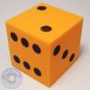 Foam Dice - 25mm - Orange