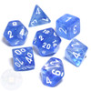 Sky Blue Borealis Dice Set
