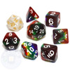 Rainbow dice set