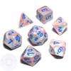 7-piece Festive dice set - D&D dice - Pop-Art