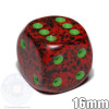 Speckled Strawberry 6-sided dice