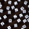 Opaque Dice - Set of 50 White d6s