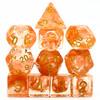 Astral Vapor dice set - Orange - D&D dice