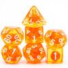 Orange Zest dice set