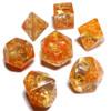 Fall season dice set - Polyhedral D&D dice