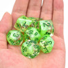 Spring season dice set - Polyhedral D&D dice