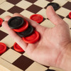 Pieces for checkers game