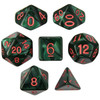 Cinderbloom dice set for D&D, Pathfinder, etc