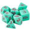 Mystic Matcha dice set