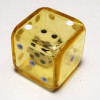 19mm Yellow Double Dice