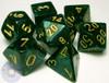 RPG Scarab dice set - Jade
