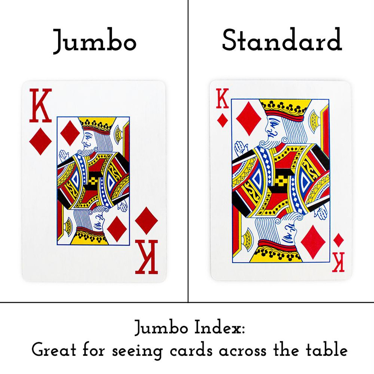Plastic-Coated Playing Cards Brybelly 12 Red Decks Wide Size Jumbo-Index