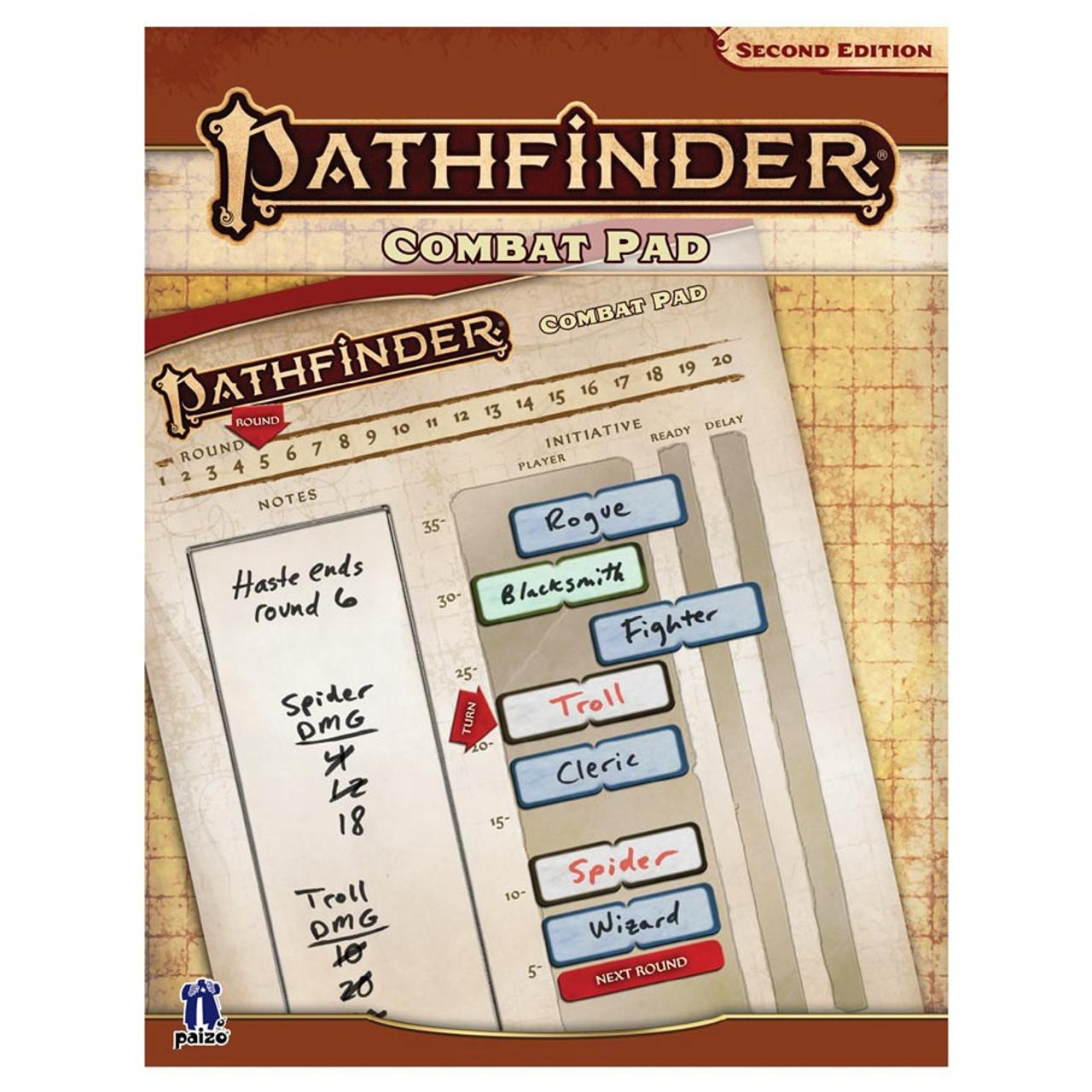 Pathfinder 2E Combat Pad