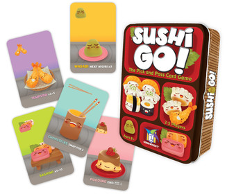 Sushi Go! card game