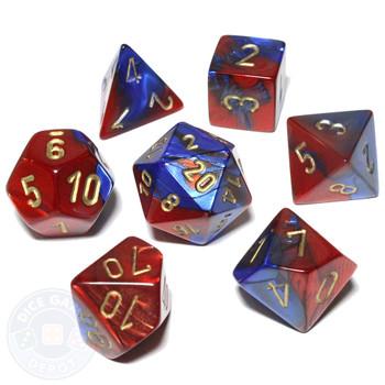 Gemini polyhedral dice set - D&D dice