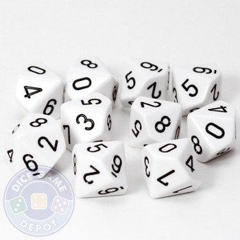 d10 set of ten