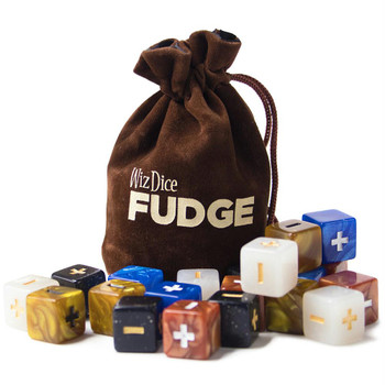 Fudge dice set - Terrestrial