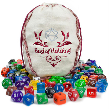 Bag of Holding - 20 complete polyhedral dice sets