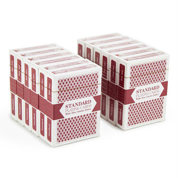 Brybelly playing cards - Red